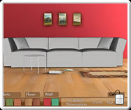 Interactive 3D based- Sofa1