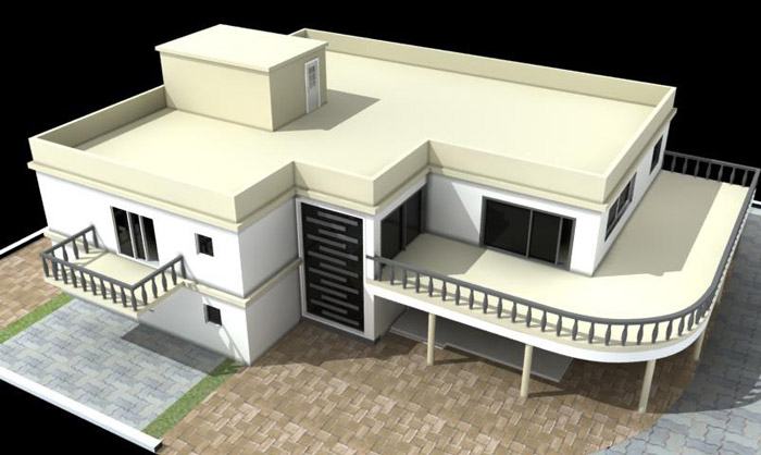 3D Floorplan  House House · 3D Home Design