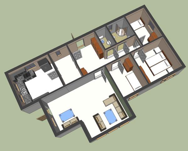 Ground Floor Plan 2